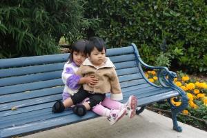 Alia & kakak Shilla