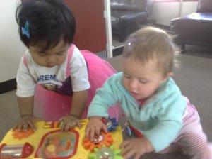 Alia & Heleyna @ play centre