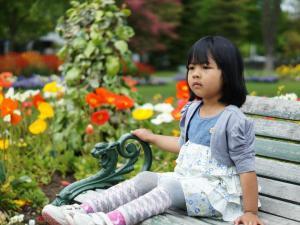 Alia at Botanical Garden