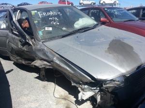 FBR 853 setelah kecelakaan