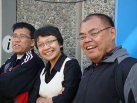 Bersama dengan Dr. Dwi Suhartanto dan Dr. Dessy Aliandrina