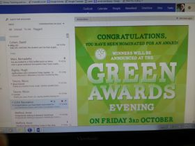 Green Award for Teaching and Supprot Excellent