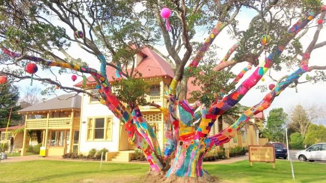 Knitted Tree di Rotorua